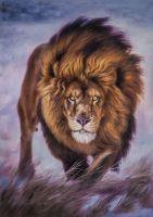 Портрет льва. Царствуя и защищая