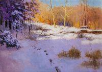 Морозным днём по россыпи снегов…