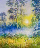 Гуляет солнце в дремлющем лесу… N2