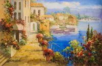 Средиземноморский полдень. Гуляя по набережной