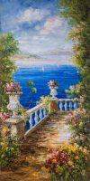 Вид на море с балкона N5