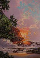 Рассвет на Гавайях. копия.