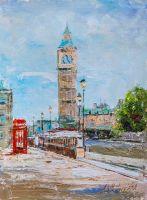 Лондон. Вид на Биг-Бен N2