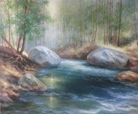 Речка в горах