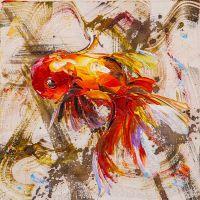 Золотая рыбка на удачу N2